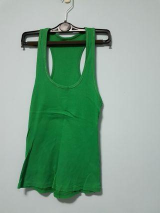 🚚 Green tank top