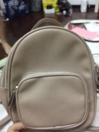 small bagpack
