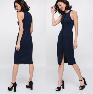 Lovebonito Shanille Contrast Trim Bodycon Dress