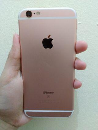 iPhone 6 64gb rose gold 1 bulan pemakaian