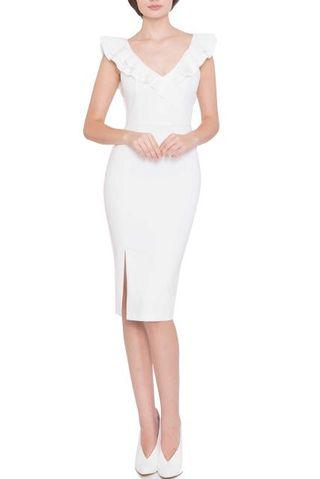 Doublewoot Dinacson white dress M