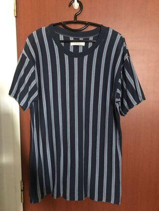 🚚 Oversized striped top