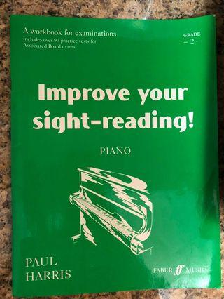 Piano book - improve your sight reading!