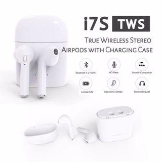 i7S TWS Wireless Stereo Airpods With Charging Case