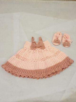 New born to 3month Knit Dress