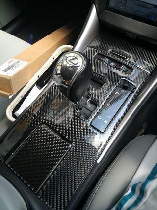 CarBon fibre for Lexus IS250