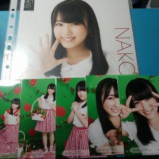 nako 奈子 生寫 hkt48 AKB48 izone