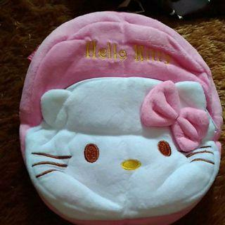 Tas bulu anak hello kitty