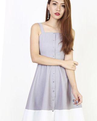 Kasia Colorblock Dress Size M