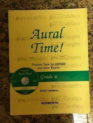 Piano book - Aural Time for grade 6