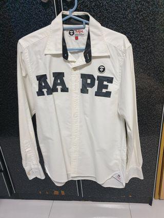 Aape long sleeve shirt