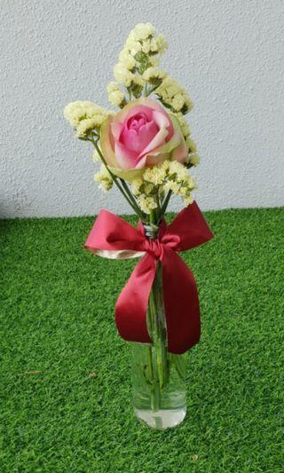 Restaurant/Café table flora arrangement
