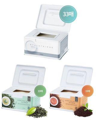🚚 5/21結單 韓國連線預購 APIEU 玻尿酸溫和保濕每日面膜33片(紅茶/綠茶/玻尿酸)