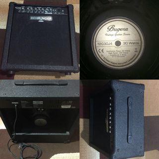 "Behringer GTX30 30W 1x12"" Guitar Combo Amplifier"