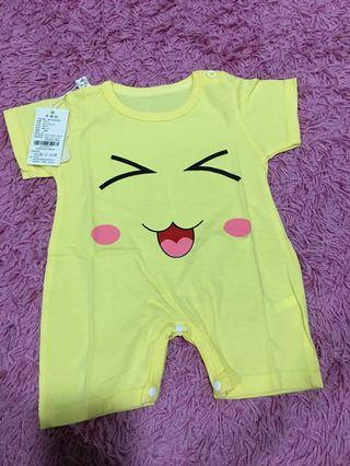 Baby Rompers yellow size 3 months