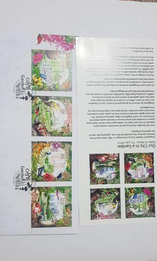 Our city in a Garden FDC