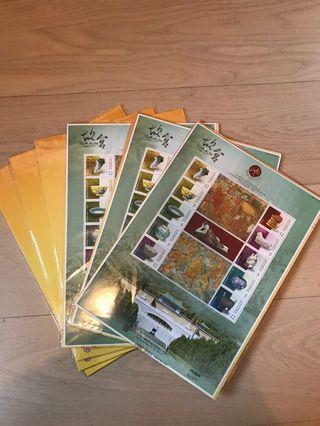 中華郵政股份有限公司 故宫古董陶瓷 紀念郵票 (限量發售)巿價HK$1,680 絕對值得收藏
