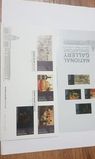 National Gallery Singapore FDC