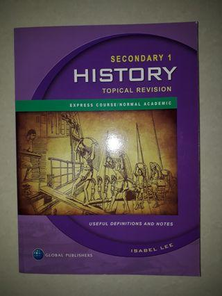 Secondary 1 History Topical Revision Workbook