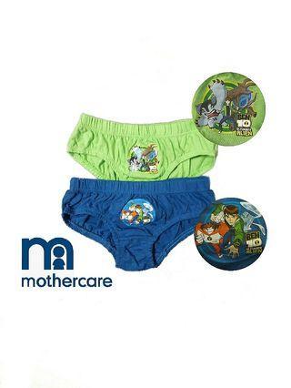 專櫃購得*英國mothercare 卡通款Ben 10男童棉質三角內褲/2入(建議2-3歲左右適穿)