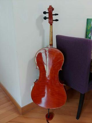 3/4 handmade cello