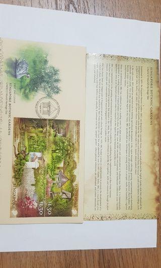 Singapore Botanic Gardens FDC