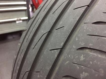 Tyre size 205/55/17 toyo proxes year 2016