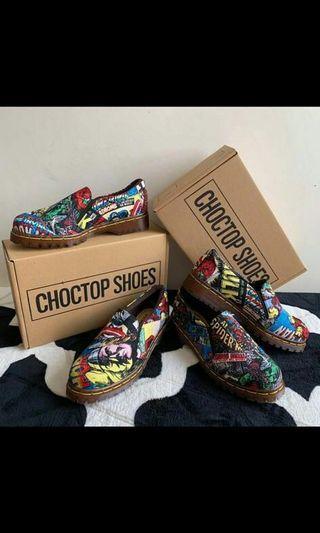 Marvel slip on shoe