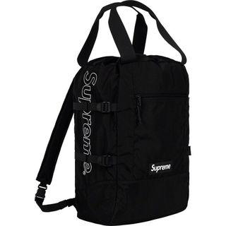 Supreme SS19 tote bag backpack 旅行包 後背包 兩用包