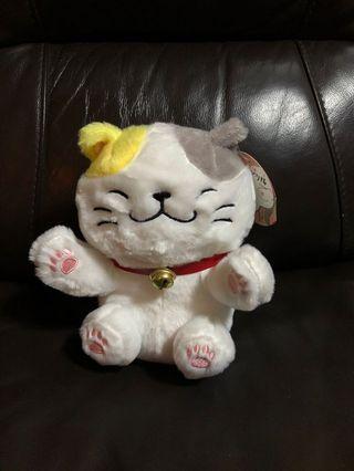 Cat soft toy