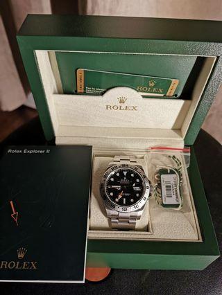 Rolex 216570 explorer II