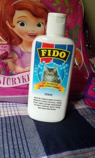 Fido cat shampoo with conditional