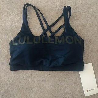 Brand New With Tag Lululemon Energy Bra 20Y True Navy Size 4