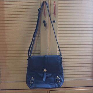 Navy Sling Bag