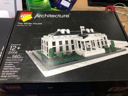 🚚 Lego 21006 the white house