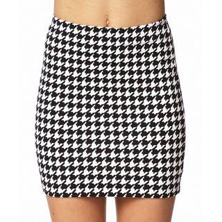 Forever 21 Houndstooth Bodycon Skirt