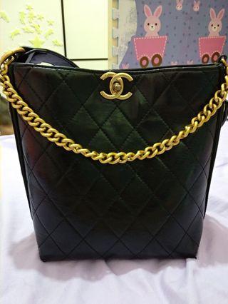 Chanel同款水桶袋