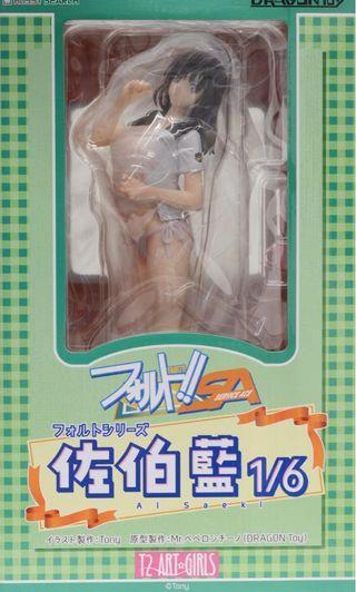 Dragon toy T2 Art girl 網球雙飛 佐伯藍 pvc figure