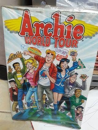 #BAPAU Buku Archie World Tour