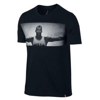 Jordan tee black size L