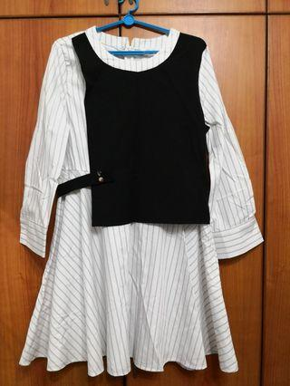 🚚 Strips black white designer