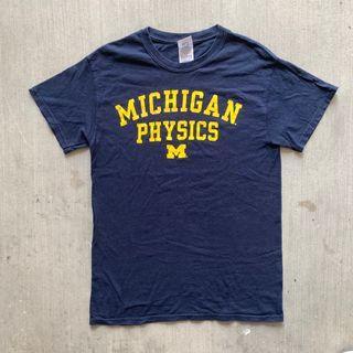 🇺🇸Vintage Michigan Tee 古著 古着 美國 女裝上衣