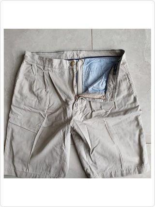 Nautica shorts celana pendek pria size 34