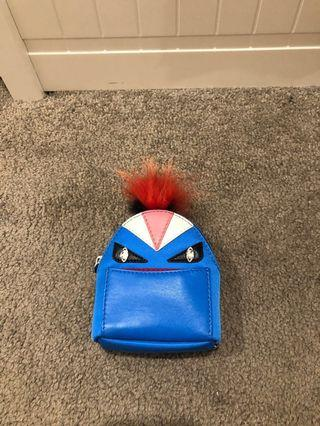 Authentic Fendi bag charm Backpack