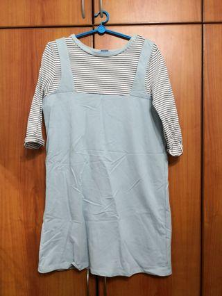 🚚 Blue pinafore dress