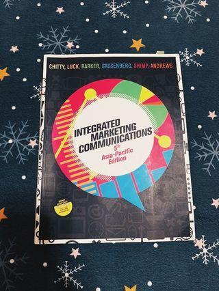 Integrated Marketing communication (Murdoch textbook)