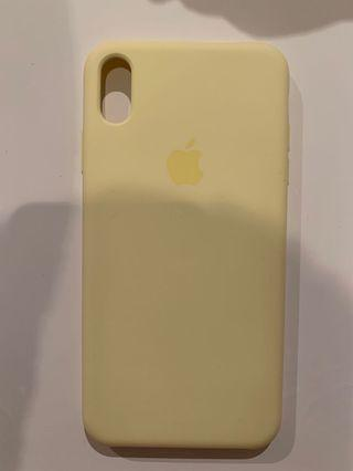 iPhone XS Max Pastel Yellow Phone Case