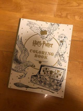 Harry Potter Coloring Book 哈利波特填色書 (1 page used)