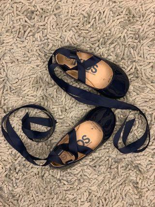 Cotton On Baby Shoes| Dark Blue | Size 7/ 15cm