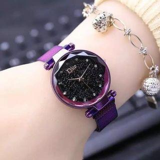 jam tangan dior free box